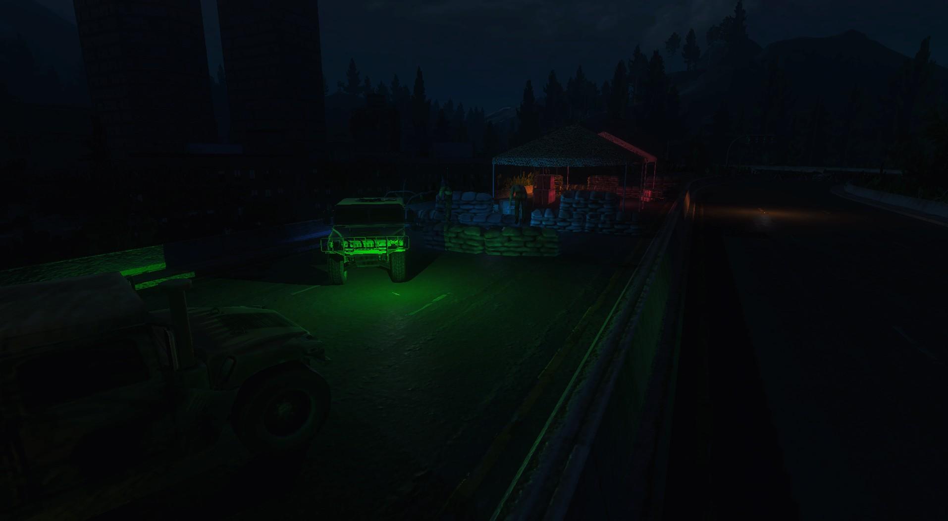 Oswietlenie kolejnego miasta